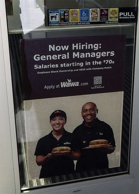 Wawa Riverview - Hiring General Manager with salaries staring in the $70s/ 2015 photonews247.com