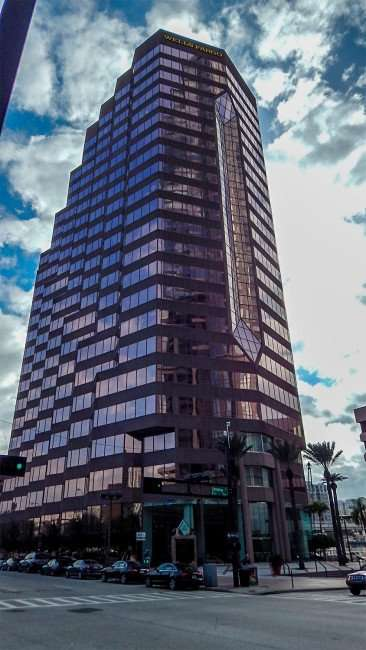 JAN 19, 2015 - Wells Fargo Center formally the Wachovia Center is a 311-foot high on 100 North Ashley Street in Downtown Tampa/photonews247.com