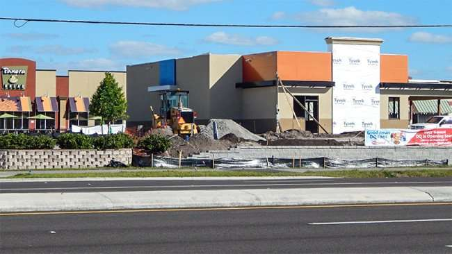 February 8, 2015 - construction of DQ Big Bend on along hwy 301in Riverview, FL
