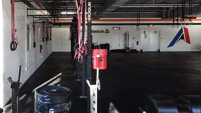 CrossFit Apogee Rebok gym with Rogue cages and rings on Big Bend Rd, Gibsonton, FL/2015 photonews247.com