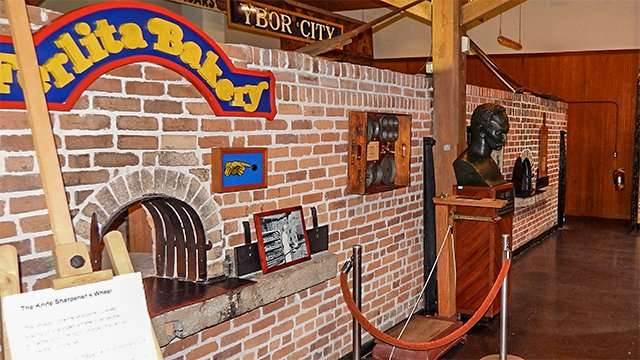 Ferlita Bakery ovens in Ybor City Museum