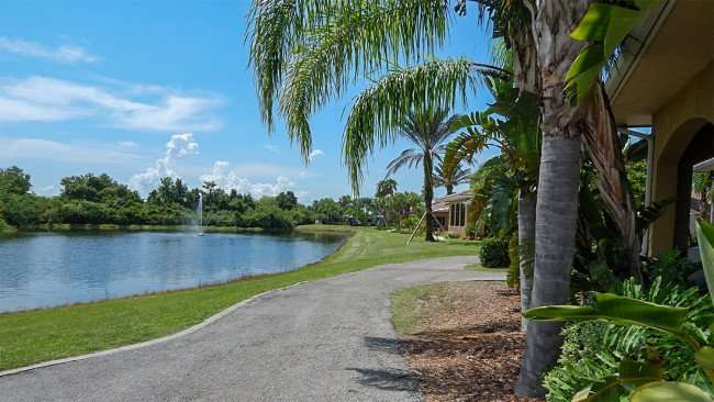 July 22, 2014 - Scepter Clublink Golf Club (An eastward view of south club from cart path in back of club) in the gated Kings Point community of Greater Sun City Center, FL/photonews247.com