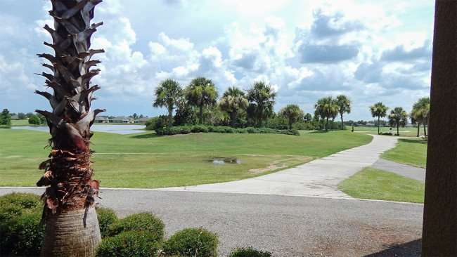 July 22, 2014 - Scepter Clublink Golf Club ( looking east from the patio outside) in the gated Kings Point community of Greater Sun City Center, FL./photonews247.com