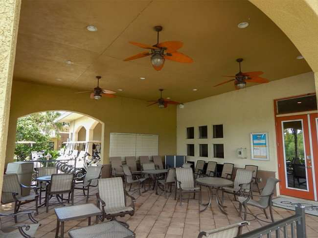 July 22, 2014 - Scepter Clublink Golf Club (patio is a social area for golfers) in the gated Kings Point community of Greater Sun City Center, FL/photonews247.com