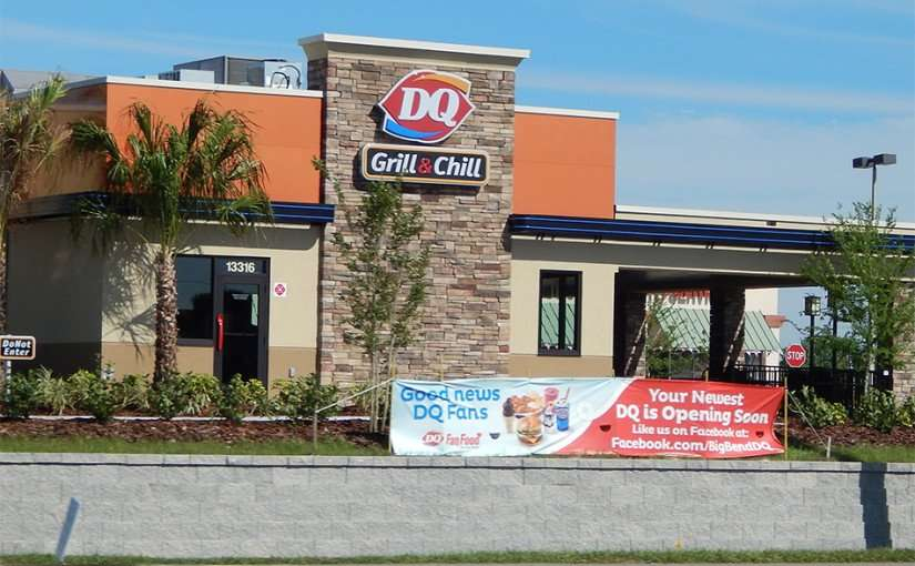 March 28, 2015 - construction DQ Grille and Chill, US 301 and Big Bend, Riverview, FL/photonews247.com