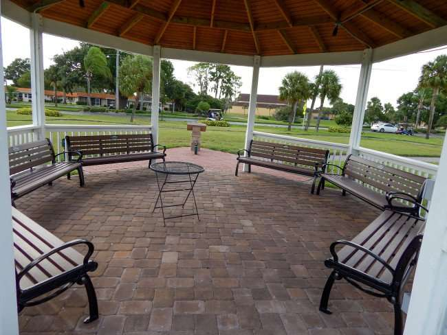 Six benches dedicated to Elaine Richards from Bill Richards at Kings Point Heritage Park/photonews247.com