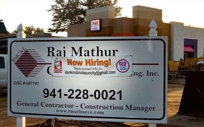 AUGUST 7, 2015 - Hiring Dunkin Donuts Baskin Robbins Sun City City Ruskin SouthShore, FL/photonews247.com