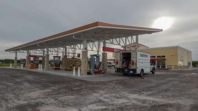 June 11, 2015 - Construction of Wawa gas station on Summerfield Crossing Blvd and US 301, Riverview, FL