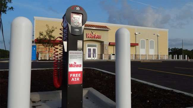 June 30, 2015 - Wawa provides Free Air on Summerfield Crossing Blvd and US Hwy 301, Riverview SouthShore, FL