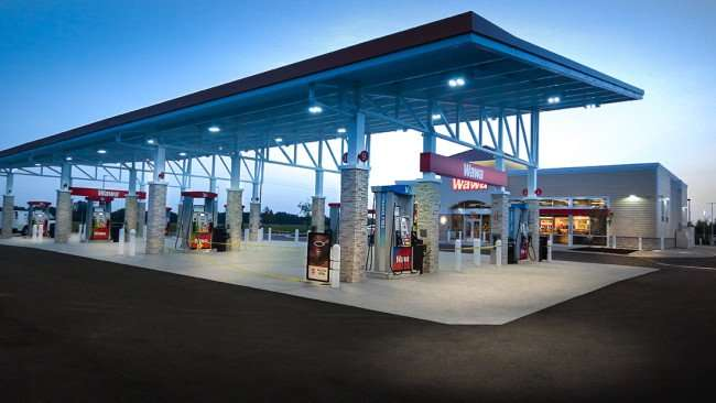 July 9, 2015 - Wawa Riverview before 8am grand opening in Riverview SouthShore, FL
