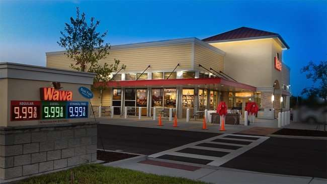 Wawa Riverview before grand opening in Riverview SouthShore, FL
