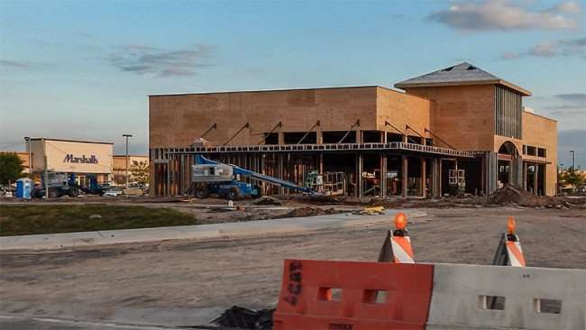 MARCH 3, 2015 - Wawa construction site in front of Marshalls on US 301 and Summerfield Crossing Blvd, Riverview, FL