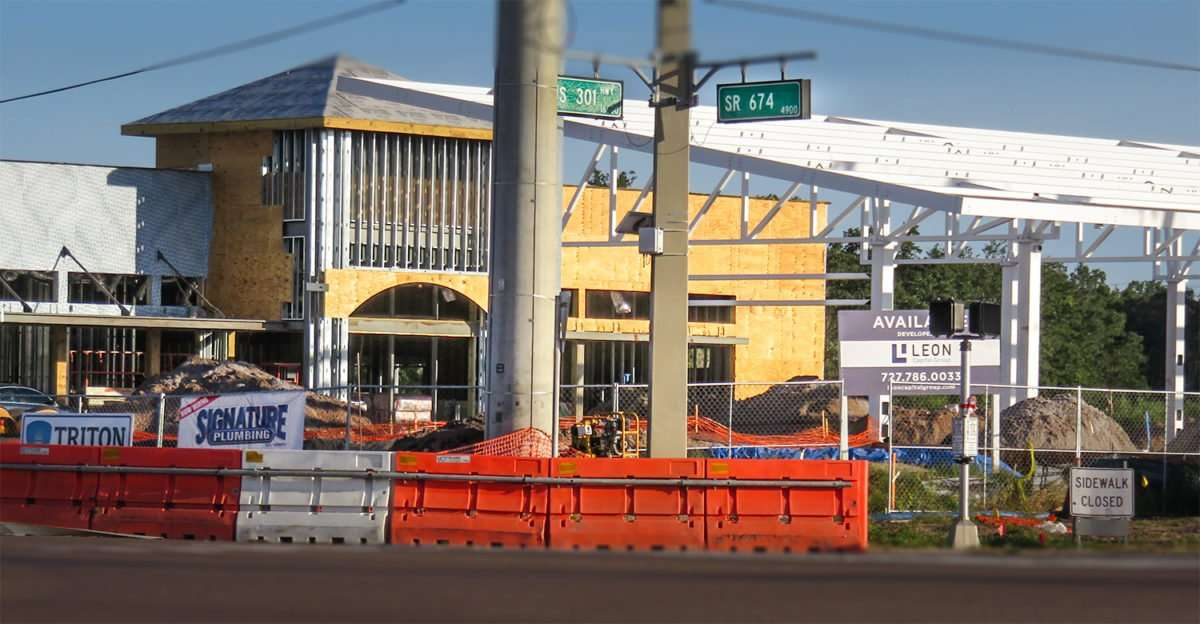 11.12.2016 - construction site of Wawa at US-301 and SR-674, SouthShore Wimauma, FL/photonews247.com