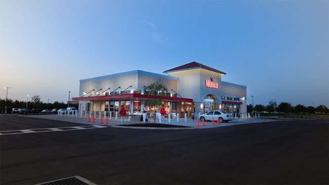 July 9, 2015 - first car at Wawa Riverview before 8am on first day opened in Riverview SouthShore, FL