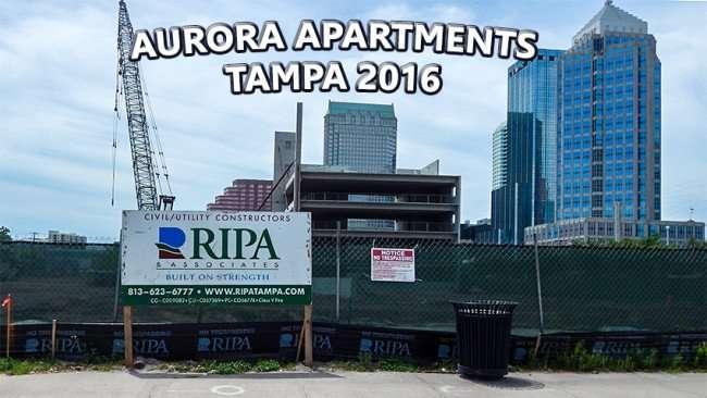 April 21, 2015 - Aurora Apartments construction on Morgan Street