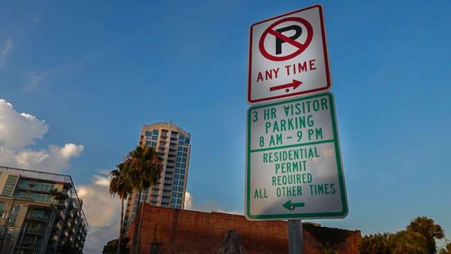 July 14, 2015 - Channelside parking - 3 hr visitor parking 8am to 9pm all other times need residential permit