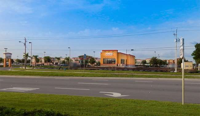 June 30, 2015 - Construction site of Popeyes Louisiana Kitchen on Big Bend Blvd, Riverview SouthShore, FL