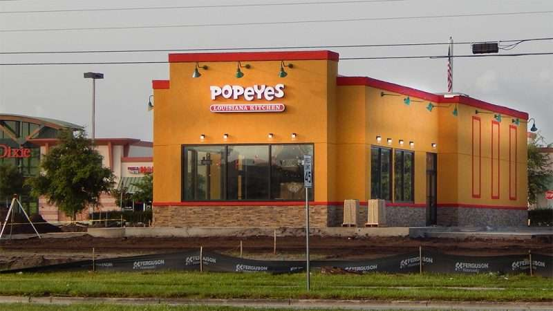 Popeyes Louisiana Kitchen Building popeyes chicken, big bend rd, riverview, fl – photonews247