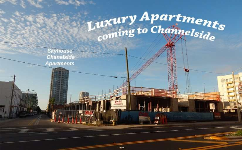 NOV 8, 2015 - Luxury Apartments being built by Case Construction in Channelside Tampa, FL/photonews247.com