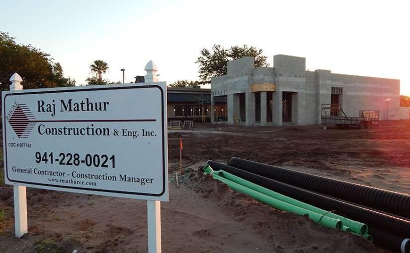 May 9, 2015 Raj Mathur Construction building Dunkin Donuts in Sun City Center Ruskin South Shore, FL/2015 Photo News 247