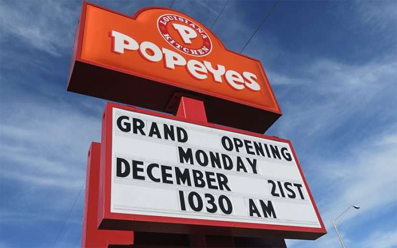 Dec 19, 2015 - Popeyes Grand Opening Monday December 21st 1030 am Sun City Center, FL/photonews247.com