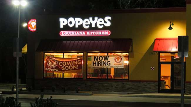 DEC 6, 2015 - Popeyes Restaurant coming soon to Sun City Center, Ruskin, FL/photonews247.com