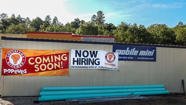 AUG 23, 2015 - Popyeyes Chicken Sun City Center NOW HIRING For Management Apply at PLKflorida@gmai.com/photonews247.com