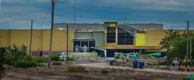 Aug 14, 2016 - Riverview 14 construction August 2016