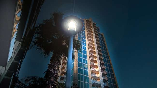 July 14, 2015 - SKYHOUSE Channelside highrise luxury apartments in downtown Tampa, FL