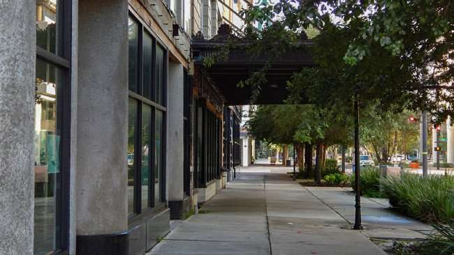 JULY 26, 2015 - Sidewalk of Kress building Downtown Tampa, FL/photonews247.com