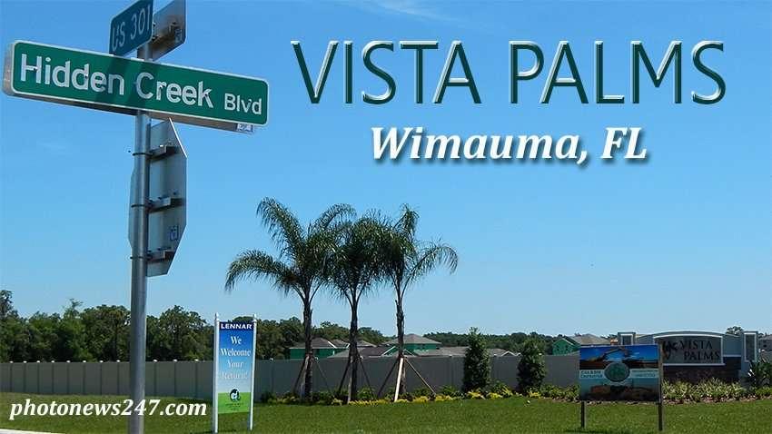 VISTA PALMS new homes, Wimauma, FL near Sun City Center