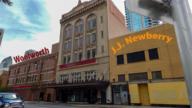APRIL 20, 2015 - Woolworth, Kress, J J Newberry building Tampa, Florida/photonews247.com
