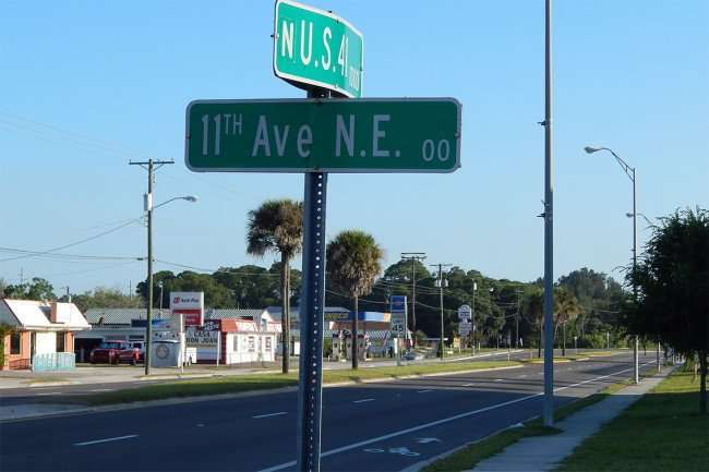 MAY 7, 2015 - Bike Lanes added to US 41 In Ruskin, FL/photonews247.com