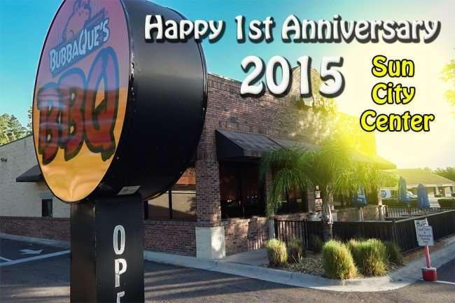 MAY 2015: Happy Aniversary to BubbaQues BBQ in Sun City Center-Ruskin, Florida/photonews247.com