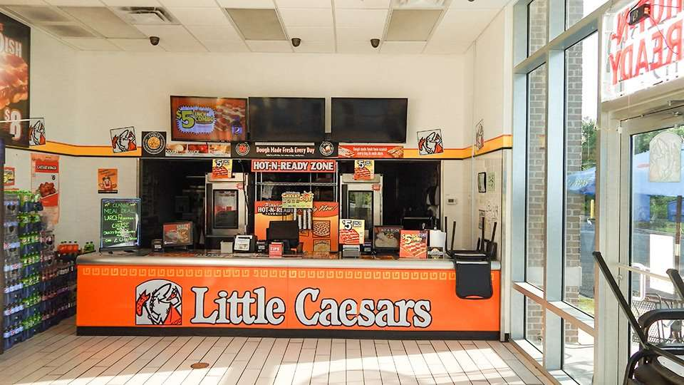 Little Caesars Menu And Nutrition Information. Menu and Prices: Little Caesars menu includes pizzas and different kinds of side dishes. The Stuffed Crust Deep! Deep! Dish Pizza is only offered for a limited time. It is a square pizza in 8 pieces that has a crisp bottom and creamy cheese stuff with more cheese and pepperoni on the top/5(71).