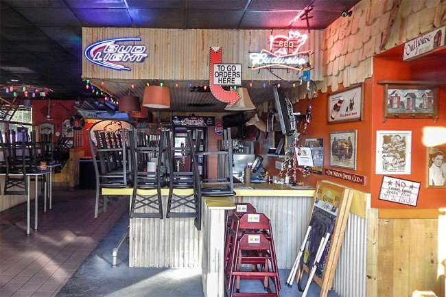 May 2015; Inside view of Bubbaques BBQ, Sun City Center-Ruskin, FL/photonews247.com