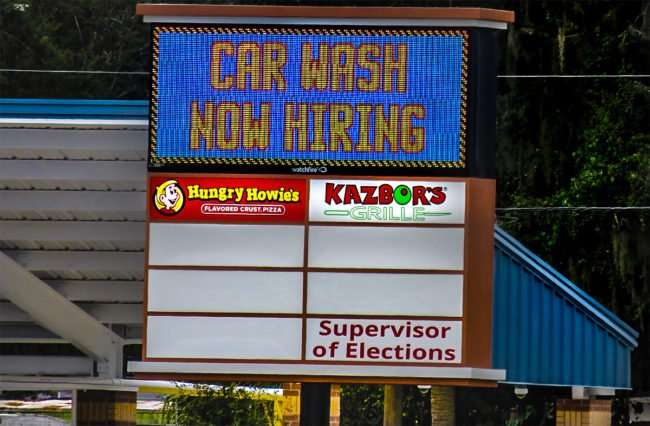 Aug 14, 2016 - Jules Car Wash Hiring, US-301, Riverview, FL/photonews247.com