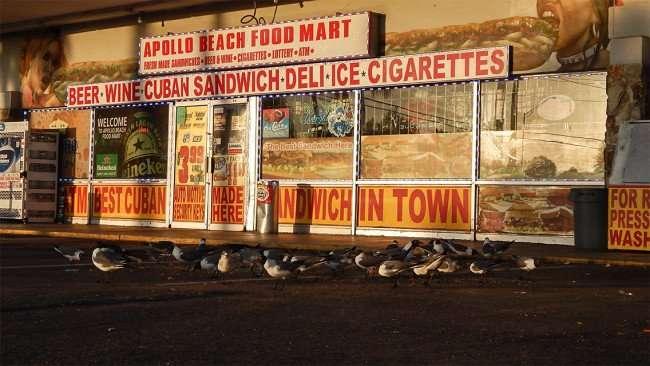 MAY 13, 2015 - Apollo Beach Food Mart in Apollo Beach Shopping Center on US 41