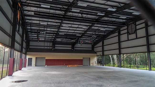 MAY 15, 2015 - YMCA Big Bend covered basketball court