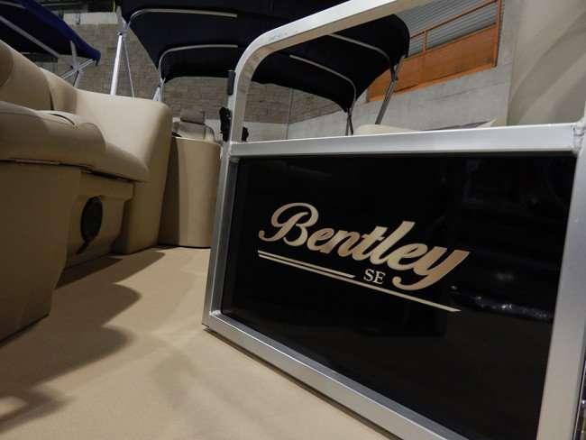 MAY 17, 2015 - Bentley SE boat at Tampa Bay Boat Show 2015, Expo Hall at Florida State Fairgrounds