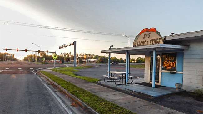 MAY 17, 2015 - Marian's Submarine Sandwich and Tacos restaurant, Ruksin South Shore, FL