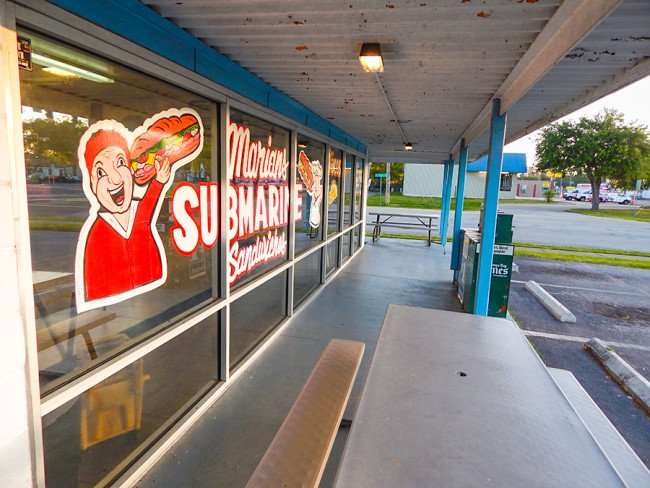 MAY 17, 2015 - Marian's Submarine Sandwiches, College Ave and Us 41, Ruskin South Shore, FL 813 645-1227