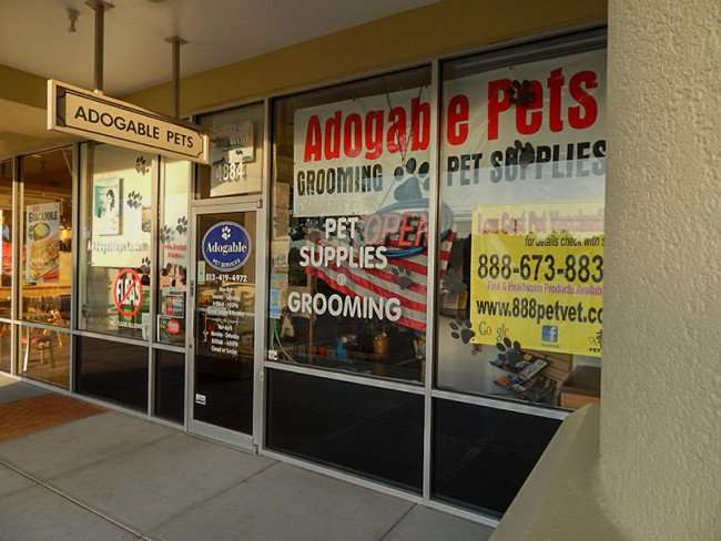 MAY 18, 2015 - Adogable Pets Grooming Salon in Kings Crossing, Sun City Cente, FL
