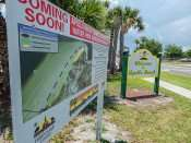 MAY 19, 2015 - Public Beach almost ready in Apollo Beach, FL