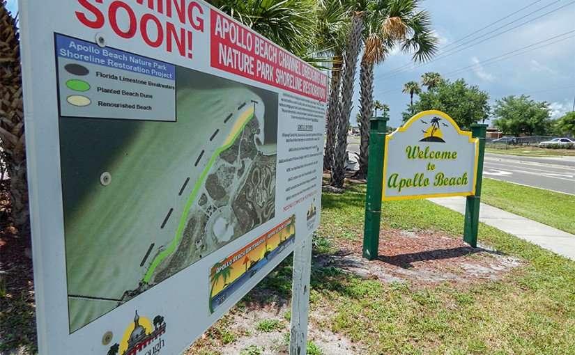 MAY 19, 2015 - Public Beach almost ready in Apollo Beach, FL