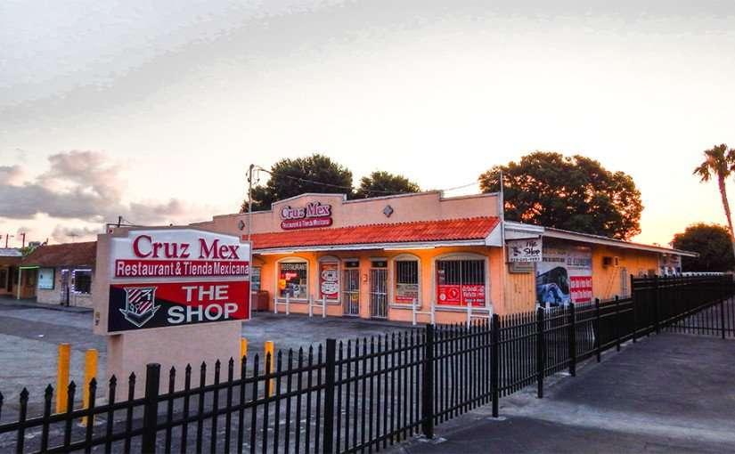 MAY 20, 2015 - Morning time at Cruz Mex Restaurant & Tienda Mexicana, Ruskin, FL