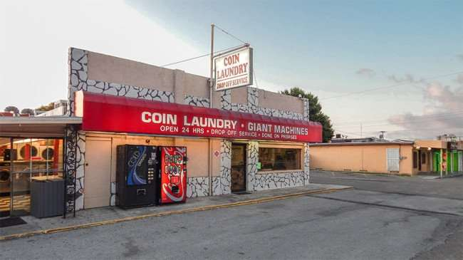 MAY 20, 2015 - Soa Opera Laundromat 24 hours along Hwy 41 Tamiami Trail in Ruskin South Shore, FL