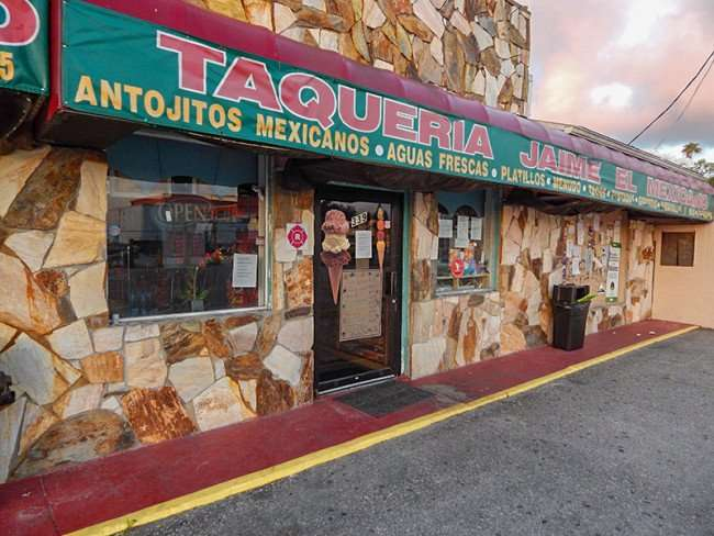 MAY 20, 2015 -Taqueria Jaime El Mexicano, Ruskin South Shore, FL