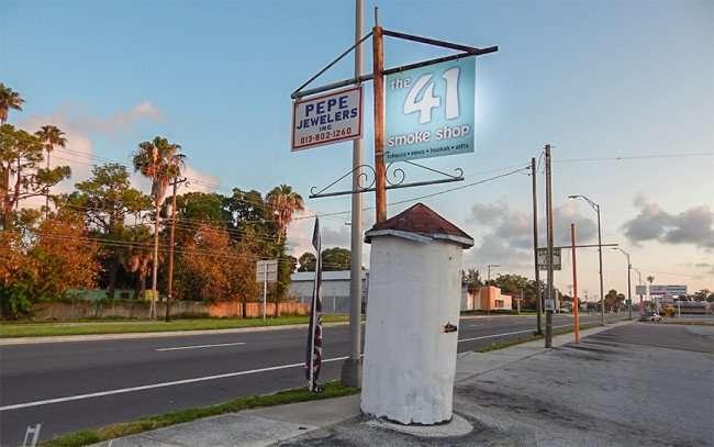 MAY 20, 2015 - The 41 Smoke Shop Hwy 41, Ruskin South Shore, FL