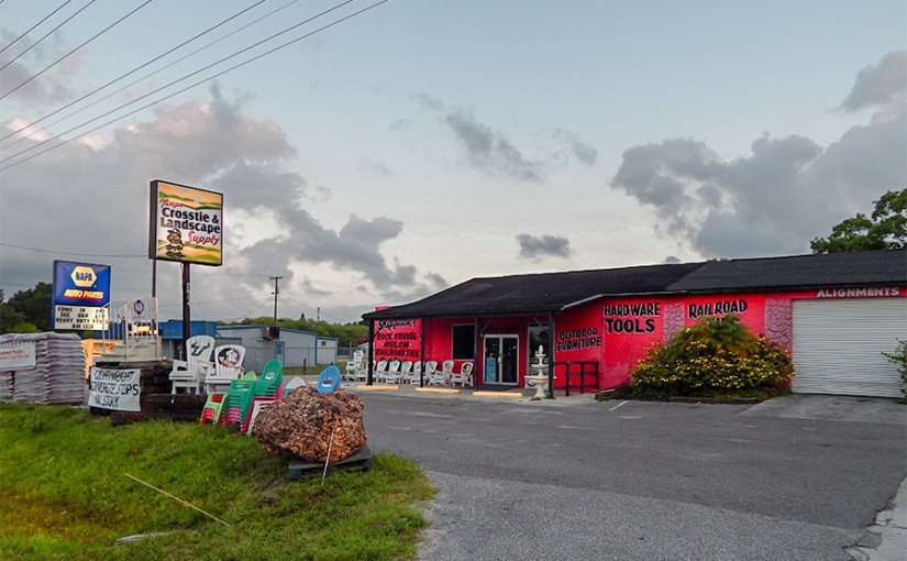 MAY 22, 2015 - Tampa Crosstie and Landscape Supply from US 41, Ruskin, FL